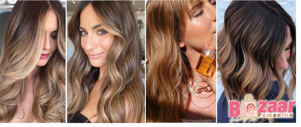 Bronde Hair Cabello Tendencia 2021 para el Color del Cabello