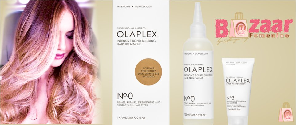 Olaplex 0 Intensive Bond Building Hair Treatment Tratamiento Reparador de enlaces intensivo